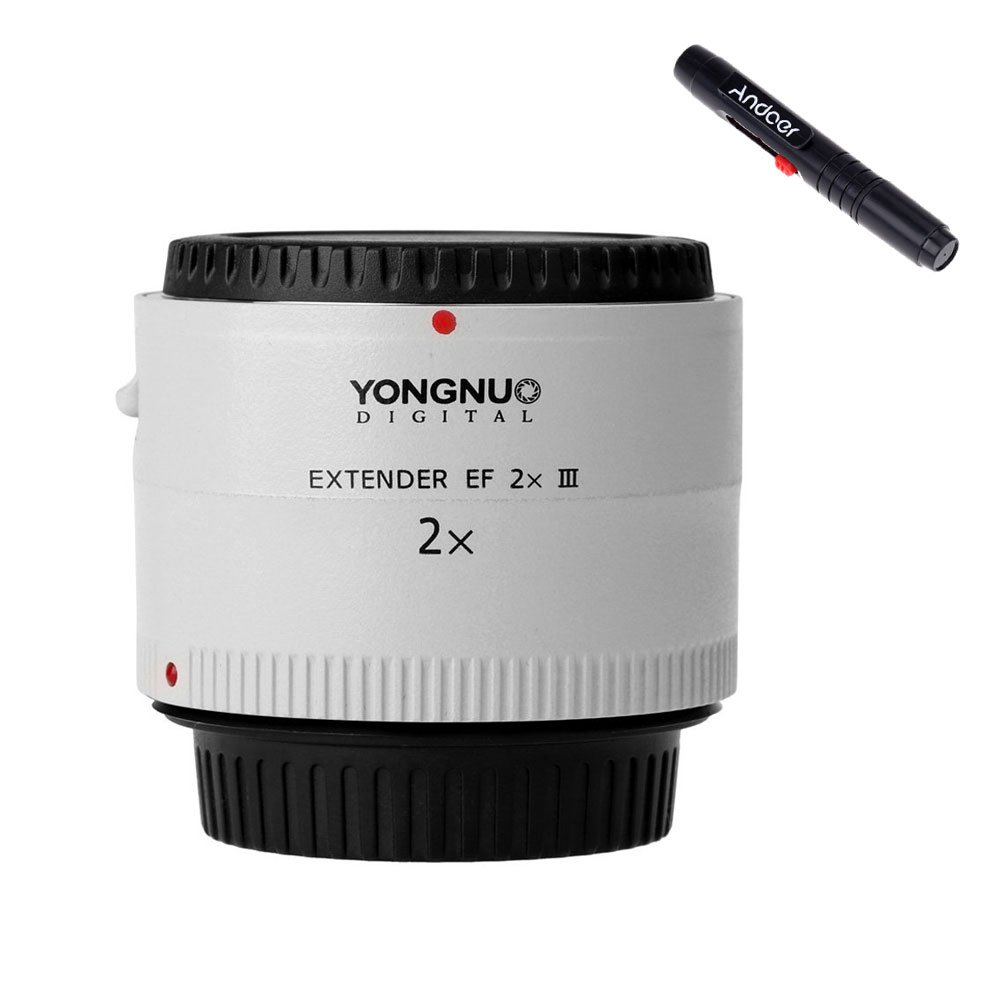 YONGNUO Extender EF 2x III Lens Electronically Controlled For Canon EOS EF LF470 YN-2.0III