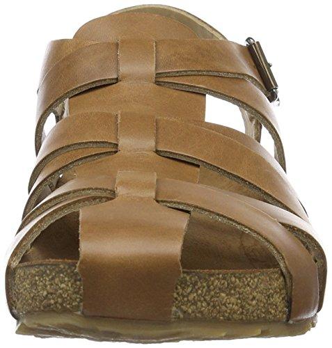 Haflinger Petra - Mules Mujer Braun (haselnuss)