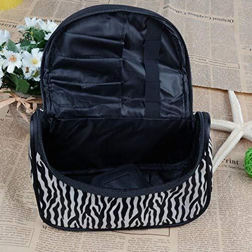 Lessonmart Portable Waterproof Women Storage Bag Cosmetic Or