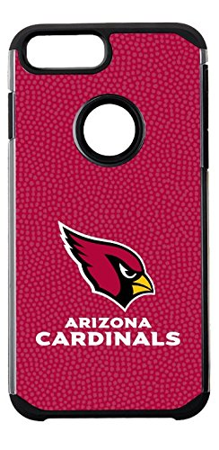 NFL Arizona Cardinals Football Pebble Grain Feel iPhone 7 ()