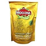 Moccona Royal Gold Freeze Dried Instant Coffee 100% Smooth Coffee Taste and Aroma Net Wt 120 G