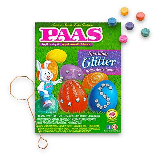 PAAS Sparkling Glitter Easter Egg Decorating Kit