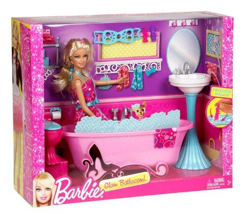 Mattel Y2856 Barbie - Bambola con bagno: Amazon.it: Giochi e giocattoli