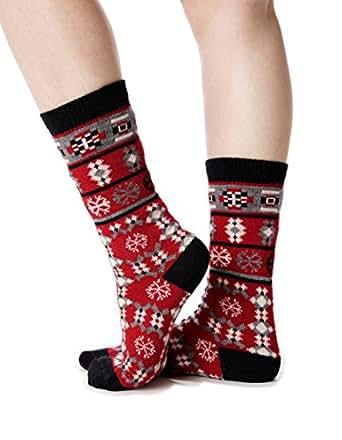 Invisible World Women's Alpaca Socks Warm Thin Cozy Winter