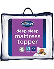 Silentnight Deep Sleep Mattress Topper, White, King