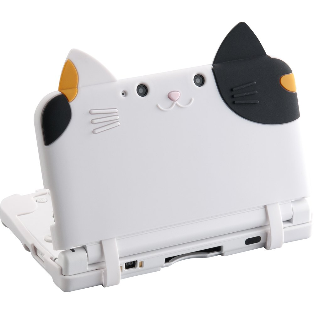 Neko Nyan DX MIKE / silicon cover cat (for 3DS LL): Amazon.co.uk ...