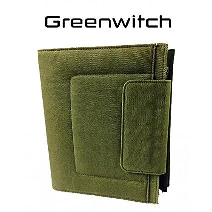 greenwitch Studio Verde Militar Agenda Organizador con ...