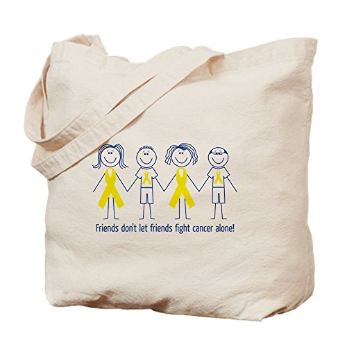 Let Bag Cancer Tote Alone Friends Don't Canvas Fight Shopping Cafepress Bag Natural Cloth pa1SHy