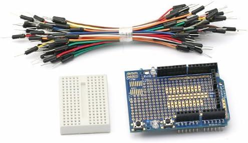 Prototype Shield ProtoShield+breadboard+Jumper Wire for Arduino Due UNO Nano
