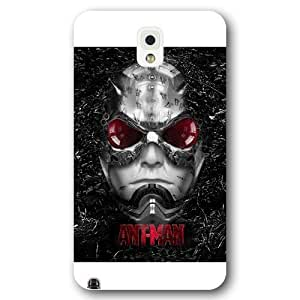 UniqueBox Customized Marvel Series Case for Samsung Galaxy Note 3, Marvel Comic Hero Ant Man Samsung Galaxy Note 3 Case, Only Fit for Samsung Galaxy Note 3 (White Frosted Case)