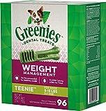GREENIES Weight Management TEENIE Halloween Dog Dental Treats, 27 oz. Pack