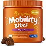 Glucosamine for Dogs - Hip & Joint Supplement for Dog Arthritis Pain Relief - With Chondroitin & MSM - Advanced Daily Natural Mobility Pet Soft Chews for Joints - All Canine Breeds & Sizes - 90 Count