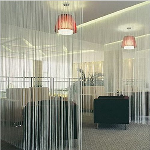 Zebery Decorative Door String Curtain Beads Wall Panel