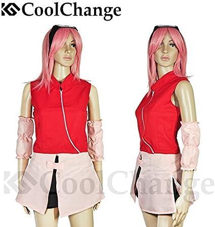 CoolChange Disfraz Chunin de Sakura Haruno. Talla: M: Amazon.es ...