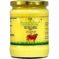 Organiac Pure A2 Gir Cow ghee from A2 Milk Prepared by Traditional Bilona Method -500ml