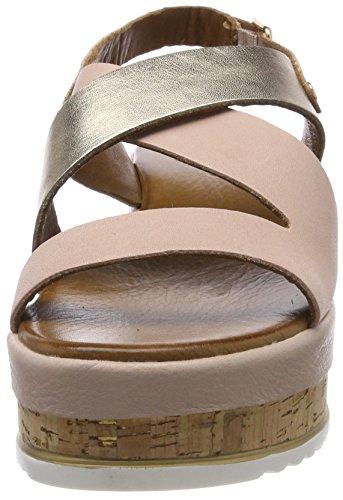 gold Sandalia Rosa blush Pulsera 16781319 Para Inuovo Mujer 8821 Con qC5TT8