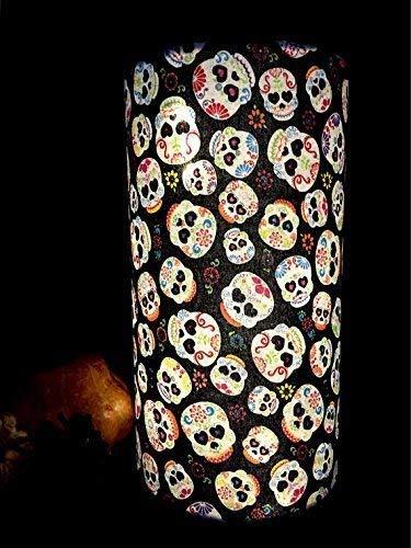 Sugar Skulls Glowing Halloween Accent