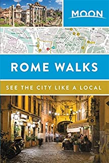 Book Cover: Moon Rome Walks