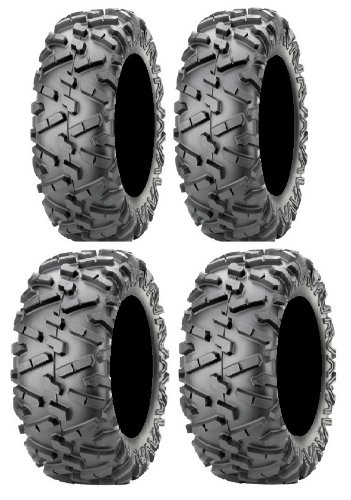 Full set of Maxxis BigHorn 2.0 Radial 28x9-14 and 28x11-14 ATV Tires ()
