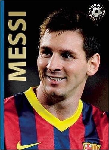 4f82602fe29 Messi (World Soccer Legends): Illugi Jökulsson: 9780789212252: Amazon.com:  Books