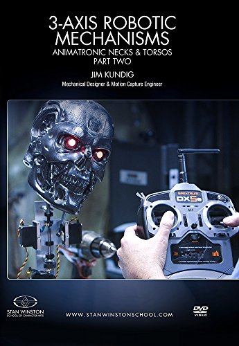 (3-Axis Robotic Mechanisms: Animatronic Necks & Torsos - Part 2)