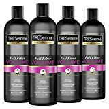 TRESemmé Shampoo For Instant Lift and Body Fiber Full Volume For Long-Lasting Buildable Volume 20 oz 4 Count
