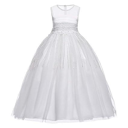 online store b7386 aa25a Vestito da damigella d'onore per ragazze Ragazze estate ...