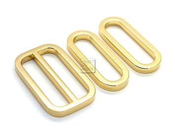 Amazon.com: craftmemore 1set hebilla de metal cartera Slider ...