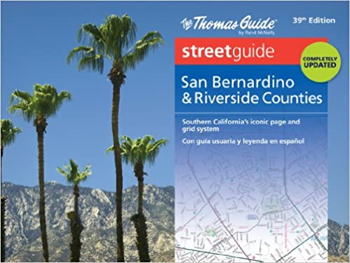Thomas guide: los angeles and orange counties street guide 54th.