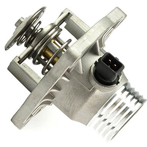 (TOPAZ 11531437526 Thermostat Assembly + Housing + Sensor for BMW E38 E39)