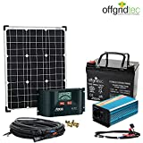 Solaranlage Autark XS-Master 50W Solar - 300W AC Leistung 12V 230V - Inselanlage - Solarset