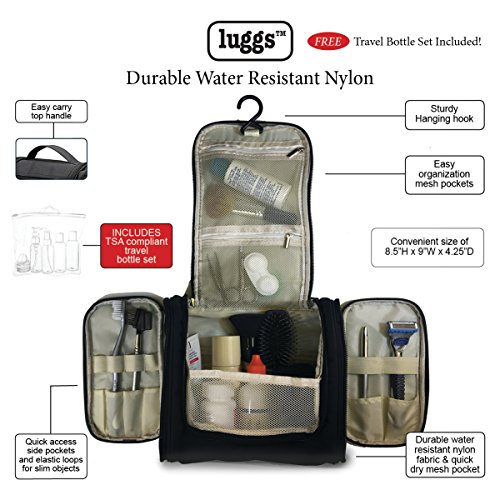 Hanging Toiletry Bag, Travel Bot...