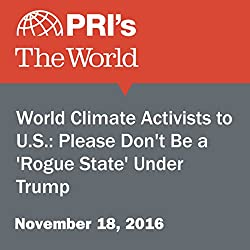 World Climate Activists to U.S.: Please Don't Be a 'Rogue State' Under Trump