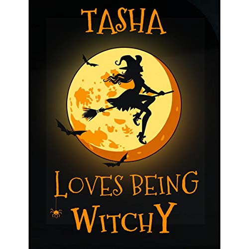 Inked Creatively Tasha Loves Being Witchy Sticker -