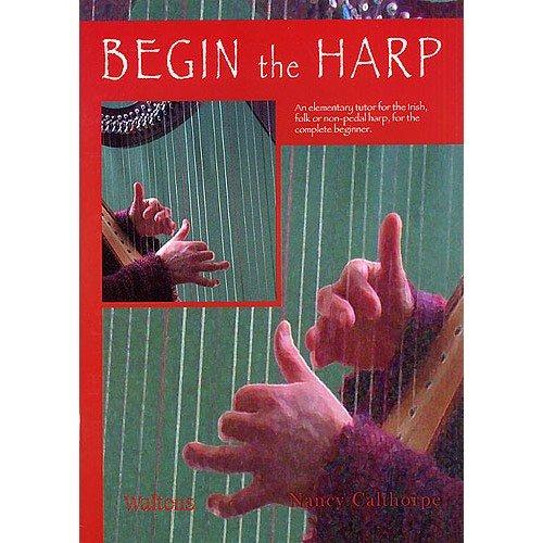 Begin The Harp. Partituras para Arpa Walton Music