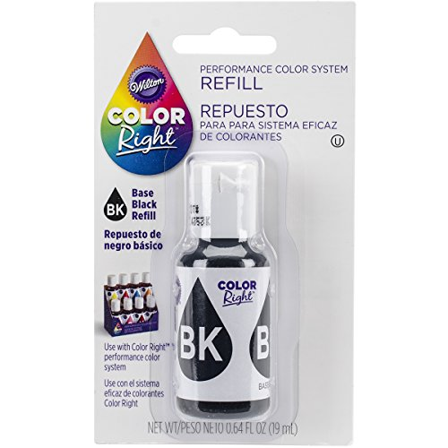 Wilton Color Right Food Color Black