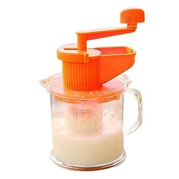 Compra Delleu Máquina Manual de la Leche de Soja-Frijol Máquina de Frutas exprimidora de la máquina de la Fruta del Jugo de la casa en Amazon.es