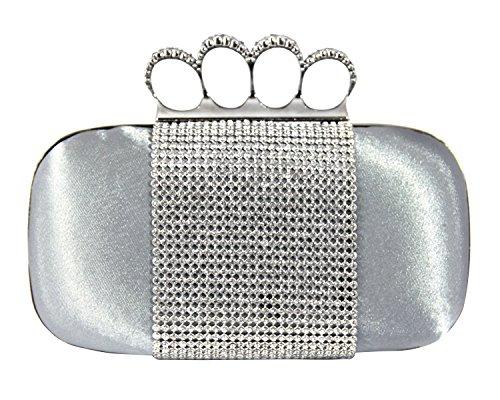 jacki-design-glamorous-rhinestone-ring-skull-knuckle-evening-clutch-party-bag-silver