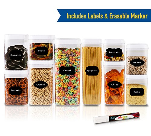 10 piece food storage containers - 1
