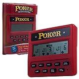 Trademark Poker Global Electronic Handheld 5-in-1 Poker Game