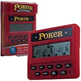 Trademark Global Electronic Handheld 5 en 1 Jeu de poker
