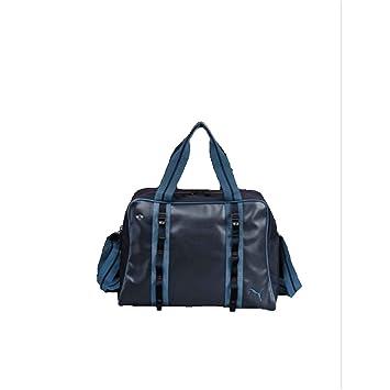 9c924fa773 MINI Genuine by Puma Weekender Bag with Adjustable Shoulder Strap in Dark  Blue
