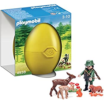 Playmobil Ranger with Forest Animals