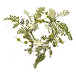 Liberty-Artificial-Mixed-Leaf-Flower-Wreath-Candle-Ring