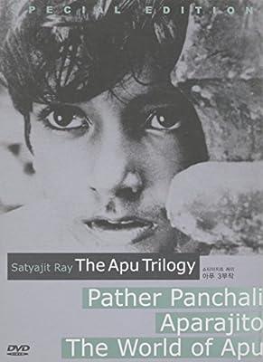 THE APU TRILOGY 3-Disc set [Pather Panchali-Aparajito-The World of Apu]
