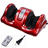 #5 Aw Kneading Rolling Foot Leg Massager Calf w/ Remote Control (Color Choice)