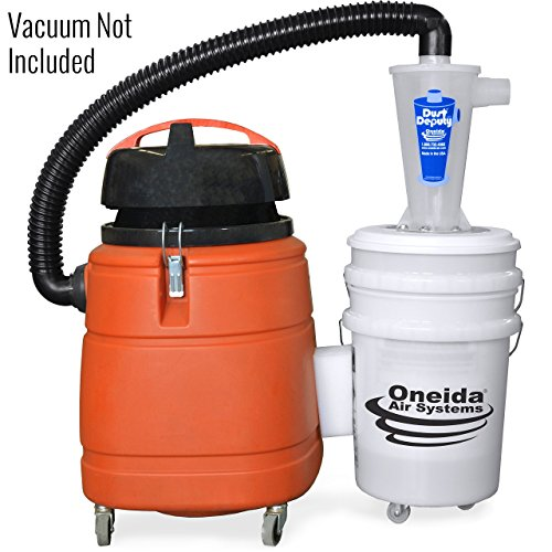 Dust Cyclonic Collection (Dust Deputy Deluxe Cyclone Separator Kit)
