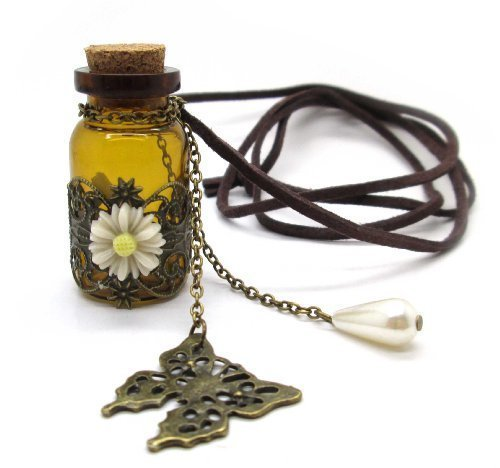 Cyqun(TM) Vintage Magic Potion Perfume Bottle Pendant Necklace,Necklace