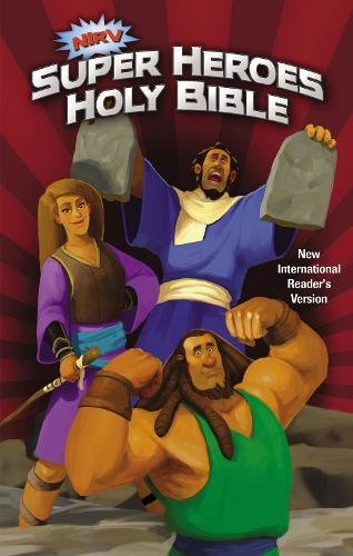 NIrV, Super Heroes Holy Bible, Hardcover
