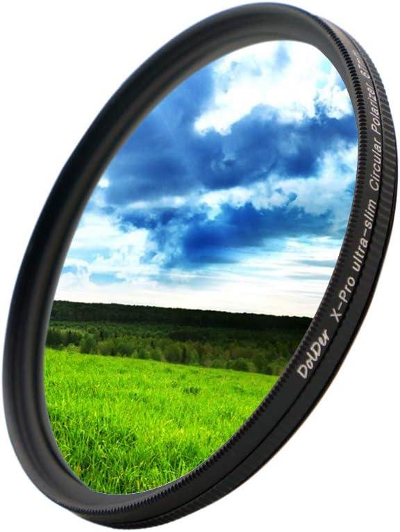 DolDer X-Pro CPL Filtro 40.5mm Circular polarizado de 40.5mm